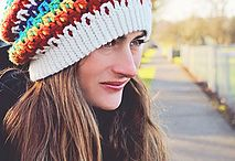 Crochet Lids / Crochet fares for your head (duh)