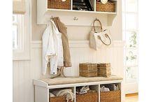 mudroom + laundry renovation