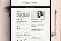 CV nd Cover Letter designs