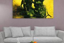 Dünyaca Ünlüler / Dünyaca ünlü ressamların kanvas tablo çeşitleri