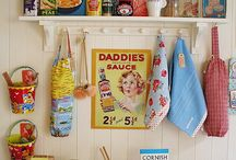 Retro & Vintage Kitchen / All things retro and vintage for the kitchen  / by Roselyn Tubman
