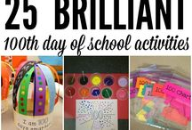 100 Days of School Countdown Ideas - PRE-K / Here are some ideas for our Pre-K teachers to do a 100th day of school countdown.