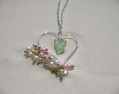 Beach Glass Sea Glass Jewelry / Handmade sterling silver plated jewelry with beach glass, sea glass and beach stones / by Gloria Gardiner