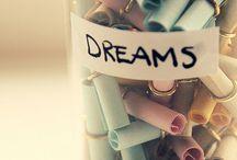 @Dream BIG. Become BIG / Don't be afraid to dream a little bigger darling!