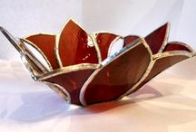 stained glass 3d bowl etc