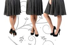 Oranje Skirts / Wear the prettiest and classiest skirts in town! Get a high rank in fashion with the most unique skirts brought to you only by Oranje.