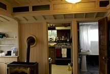 architecture: railway cars / homes