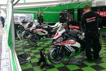 Isle of Man TT 2015 / Keep Britain Biking have behind the scenes pictures from the Isle of Man TT 2015.