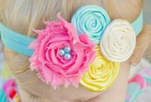 Flower and bow headbands / by Autumn Hunt