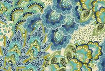 Jacobean / Jacobean and paisley rich detailed patterns