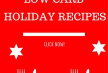 Low carb holiday eating