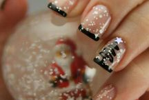 Manichiură pentru crăciun