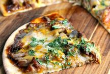 Pizza Recipes / A go to food is PIZZA! Check out those amazing combinations of ingredients that you may not have thought would go together and try it out that next time you are craving a pizza and a movie!  / by VMInnovations