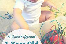 1 yaş aktivite