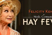 Hay Fever the Play Review / A review of Hay Fever starring Felicity Kendall