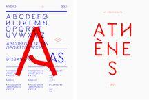 géometric & elastic fonts
