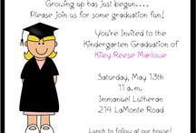 Preschool graduation ideas / by Vickie Westmoreland