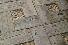 Podlahy do pergoly