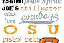 Orange Power - Go Pokes! / by Brenda Lee Hall