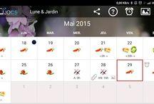Présentation de l'application Lune&Jardin