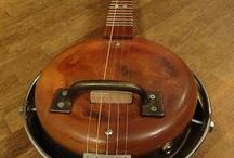 banjo og mandolin