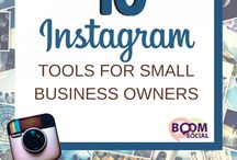 Instagram for Small Business Owners / by Boom! Social with Kim Garst