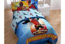 Shawn's Power Ranger Room / by Ashley Davis