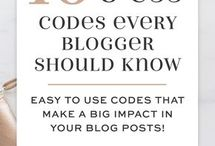 HTML/CSS for bloggers