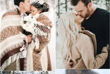 Engagement shoot styling