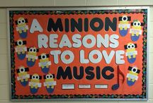 School Music ideas! / Bulletin boards and lesson ideas