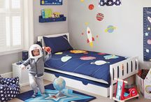 Rocket and space themed children's bedroom / Inspire great adventures and big dreams with our Space and Stars bedroom.