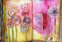 Mixed Media / I love the creativity that comes from experimenting with different crafting mediums.