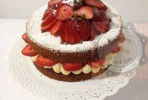 BOLO NAKED CAKE - TORTA NAKED CAKE