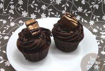 Chocolate cupcakes/ Шоколадные капкейки