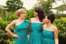 Green with Envy Bridesmaids