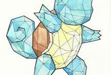 Pokémon geometrical