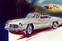 Vintage Mercedes-Benz Adverts
