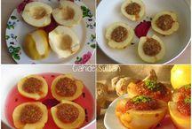 Ayva tatlısı( meyvelerden)