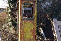 Petrol Pumps As Found By UK Restoration / Petrol Pumps As Found By UK Restoration