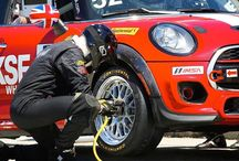 The new MINI #JohnCooperWorks Team is taking on the racing world with a surprise finish and an irrepressible underdog spirit. Meet them at minijcwteam.com #JCW - photo from miniusa
