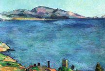 Cezanne, Paul / Cezanne paintings, malerier
