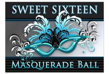 Masquerade Ball / We recently did a Masquerade Ball themed Sweet Sixteen. Here is the board we created behind-the-scenes as inspiration for the party we created!  Enjoy!  ~Tiffany
