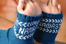 Crochet Shoes - butki dziane / Buty i skarpety na szydełku i na drutach