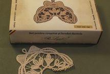 Romanian point lace kit2