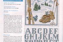 Sticken - Adventkalender