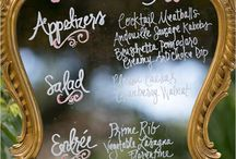 Wedding Menu / Wedding Menu's / Food