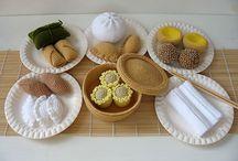 Children's Stuff: Crochet and Felt Food / by Melina Dahms