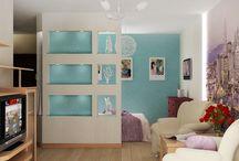 Идеи для квартиры / Для нашей первой квартиры-студии) она еще строится, но уже пора подбирать идеи ее обустройства