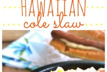 Hawiian party food