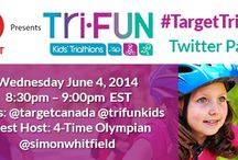 #TargetTriFUN / Join Target Canada and Tri-FUN as we celebrate the launch of the Tri-FUN Kids Triathlon Race season on June 4 , 2014 at 8:30pm E at the #TargetTriFUN Twitter Party!